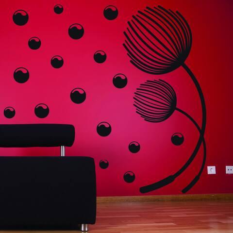 Blowball 3d Vinyl Mural Wall Decal