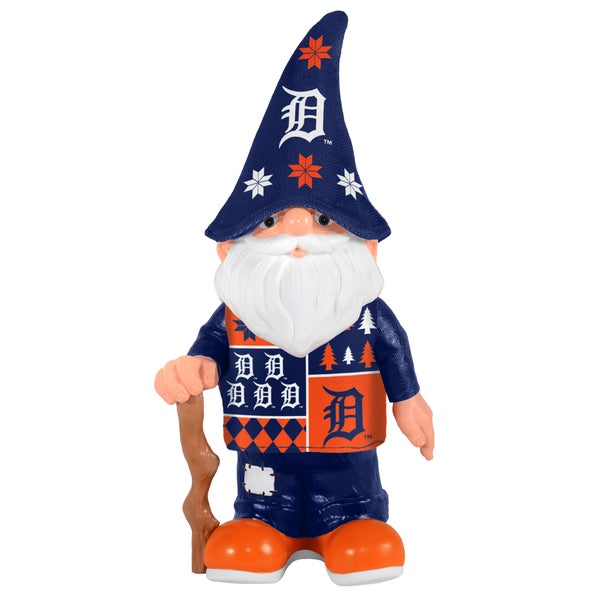 Forever Collectibles Detroit Tigers Real Ugly Sweater Gnome