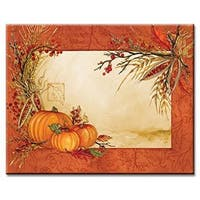CounterArt Autumn Array Glass Cutting Board