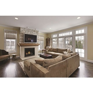 """Superior Direct Vent Fireplace Rear Vent 35"""""""