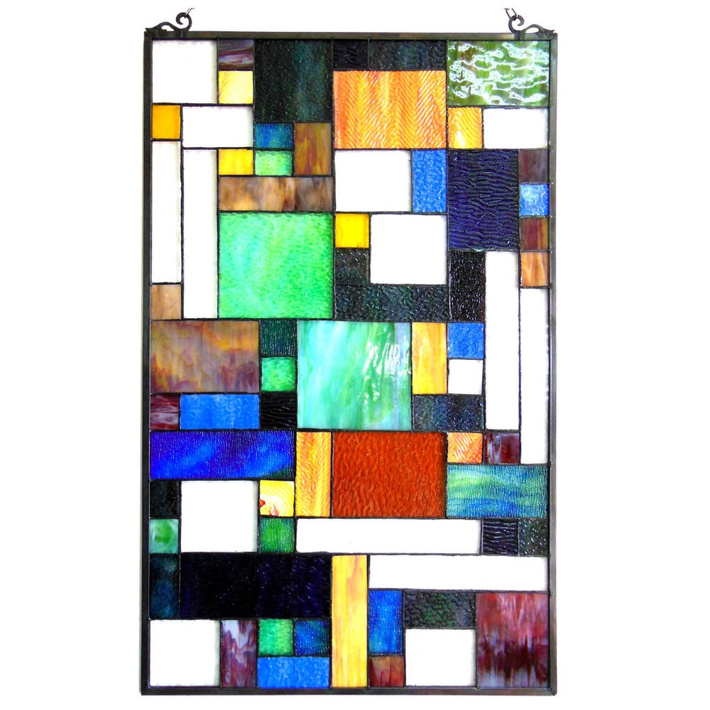 Shop Chloe Tiffany Style Art Deco Design Window Panel/Suncatcher - 10810963