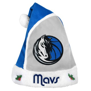 Forever Collectibles Dallas Mavericks 2015 NBA Polyester Santa Hat