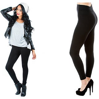 Women's Fleece Leggings (4-Pack)