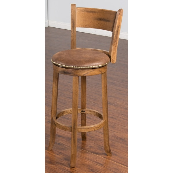 Sunny Designs Sedona Swivel 30 Inch Bar Stool Free