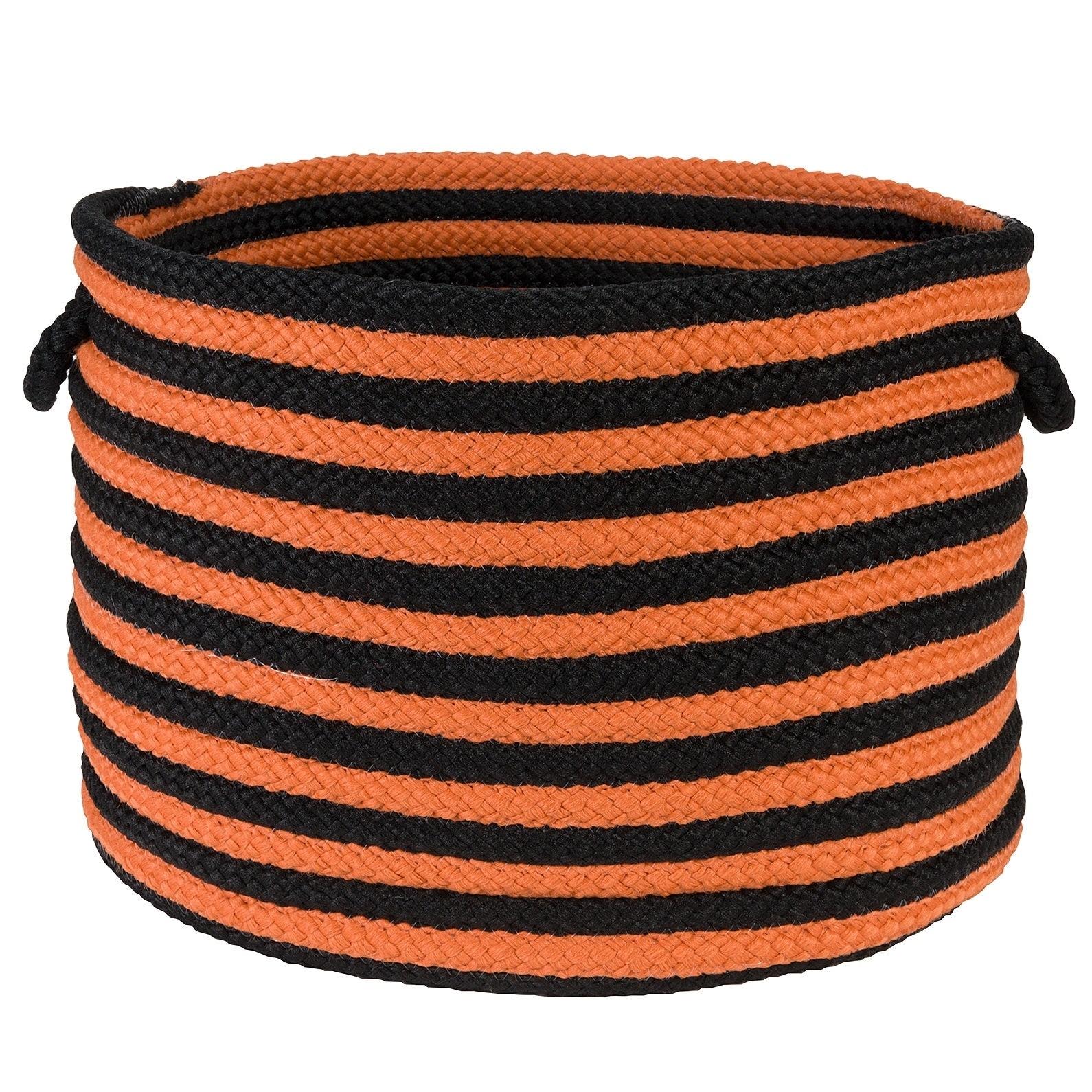 Halloween Baskets (Halloween Basket Black & Orange 14x10)