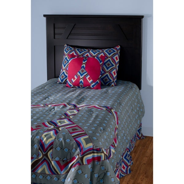 Rizzy Home Peace Comforter Set