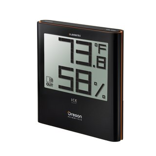 Oregon Scientific Elements Large Digital Display with Temperature and Humidity