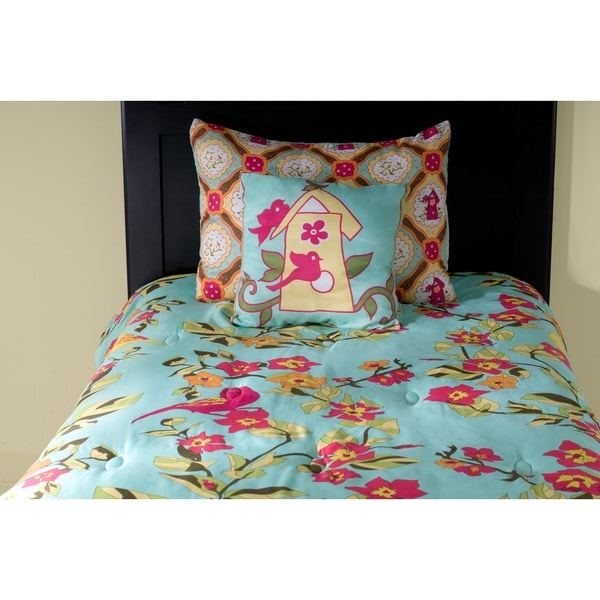 Rizzy Home Birds in Paradise 3-piece Comforter Set