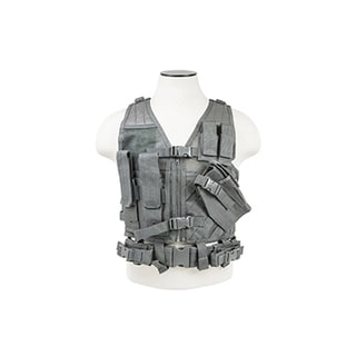 NcStar Tactical Vest Childrens, Urban Gray XS-S