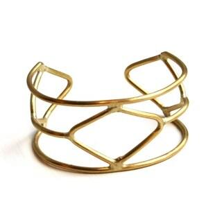 Brass Nakuru Cuff Bracelet