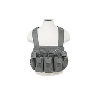 NcStar AK Chest Rig Urban Gray