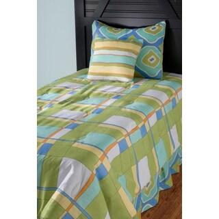 Rizzy Home Plaid Comforter Set