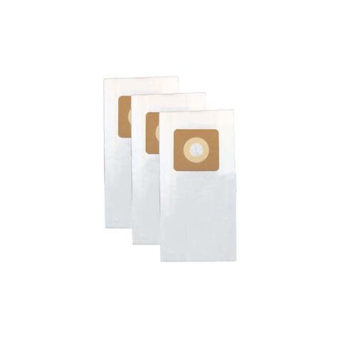 3pk Replacement Paper Style 1, 4 & 7 Vacuum Bags, Fits Bissell Lift-Off, Powerforce & More, Compatible with Part 30861