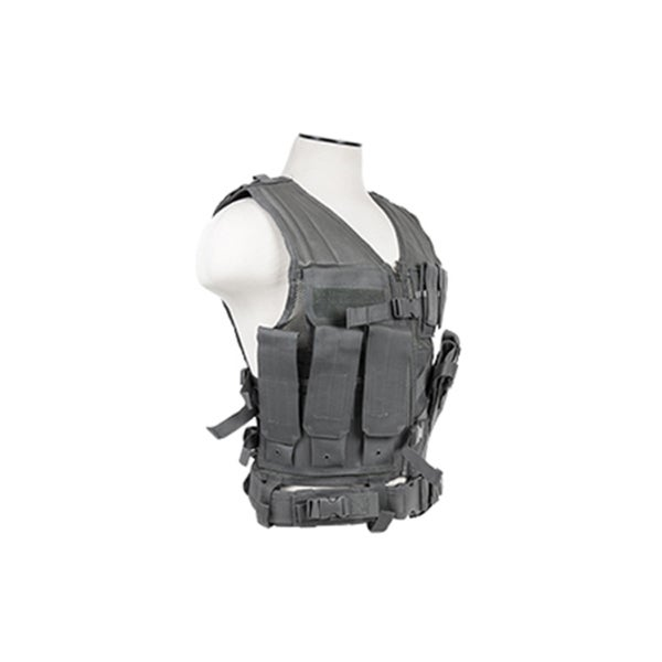 NcStar Tactical Vest Urban Grey XL-XXL+