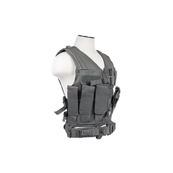 NcStar Tactical Vest Urban Gray, M-XL