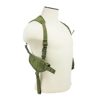 NcStar Ambidextrous Horizontal Shoulder Holster Green