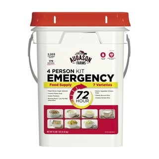 Augason Farms 4-Person 72-Hour Emergency Food Supply Pail