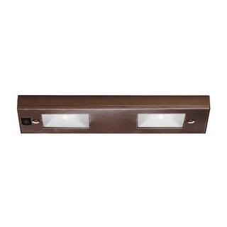 Line Voltage 2 Light Under Cabinet Light Bar