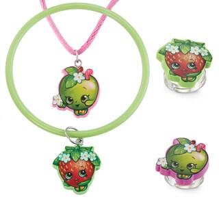 Shopkins Plastic Chidren's 4-piece Jewelry Set