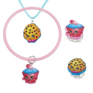 Shopkins Plastic Chidren's 4-piece Jewelry Set