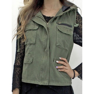 Relished Women's About Last Night Military Vest