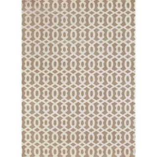 "Admire Home Living Bronte Link Beige Area Rug (5'3"" x 7'3"")"