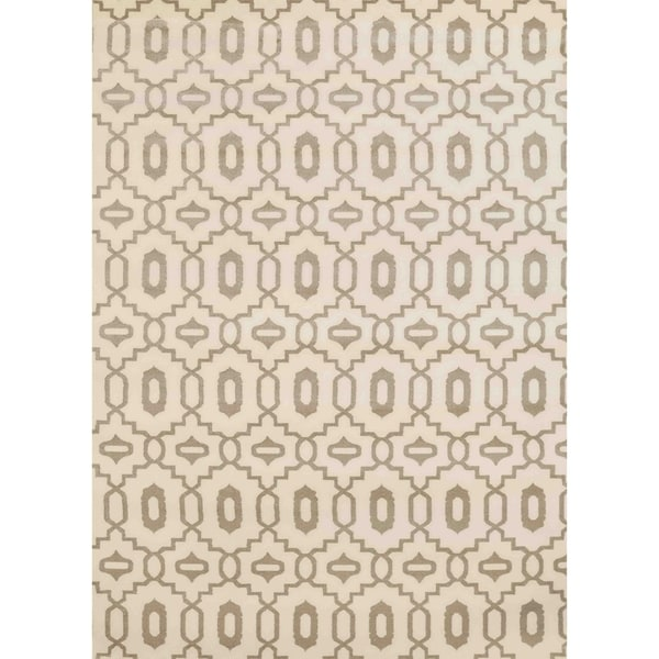 "Admire Home Living Bronte Orb Ivory Area Rug (5'3"" x 7'3"")"