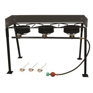 King Kooker Triple Burner Outdoor Cooker Package, 25""