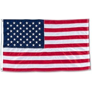 "Baumgartens Heavyweight Nylon 48"" x 72"" American Flag https://ak1.ostkcdn.com/images/products/10811244/P17856520.jpg?impolicy=medium"