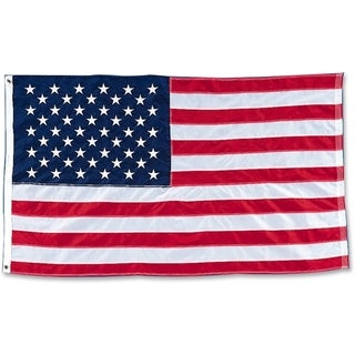 "Baumgartens Heavyweight Nylon 36"" x 60"" American Flag"