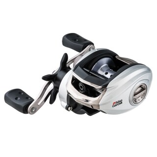 Abu Garcia Silver Max Low Profile Reel LP 6.4:1 Gear Ratio 6 Bearings 18 lb Max Drag Right Hand Boxed
