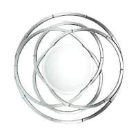 Milton Beveled Mirror - Silver