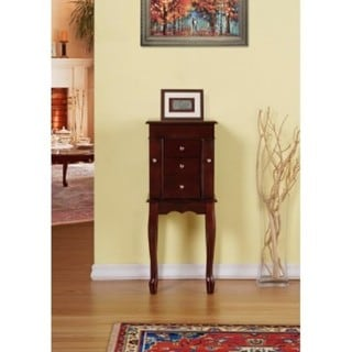 Classic Jewelry Armoire/Cabinet/Organizer for Necklaces, Bracelets, Rings