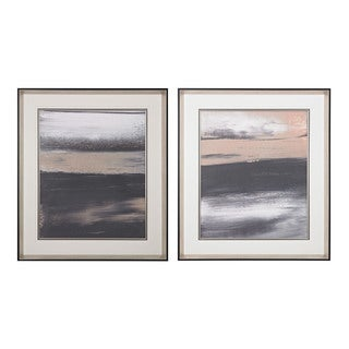 Glide I, II' Limited Edition Print On Fine Art Paper Under Glass Wall Art