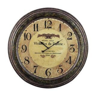 Violettes De Parme Clock