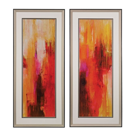 Sweet Karma I, II' Fine Art Giclee Under Glass Wall Art
