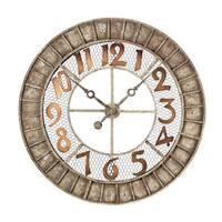 Round Metal Outdoor Wall Clock