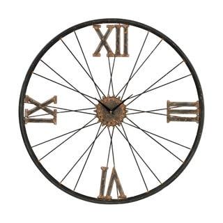 Iron Wall Clock