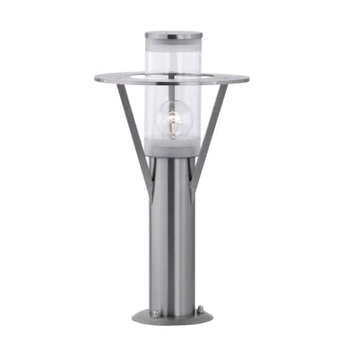 Belfast Stainless Steel Finish and Clear Glass Outdoor Path Light