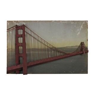 Golden Gate Bridge In Set On Print Wall Art