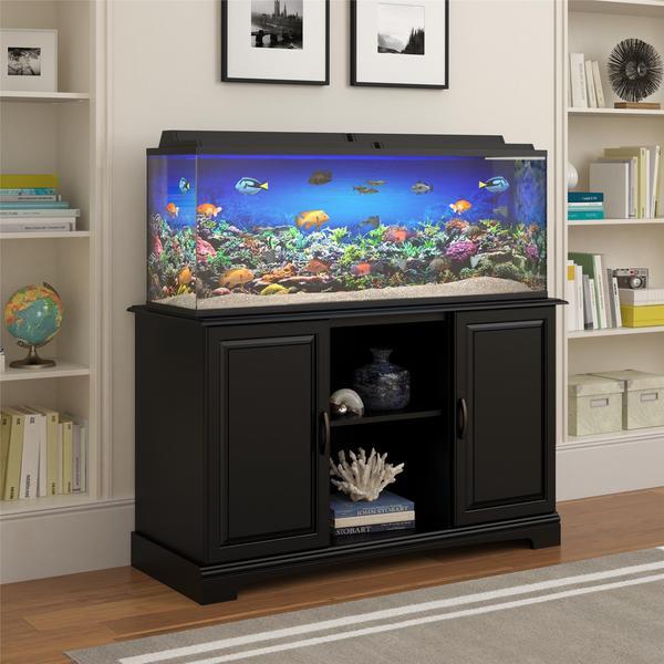 Altra harbor 50 75 gallon aquarium stand free shipping for Fish tank stand 20 gallon