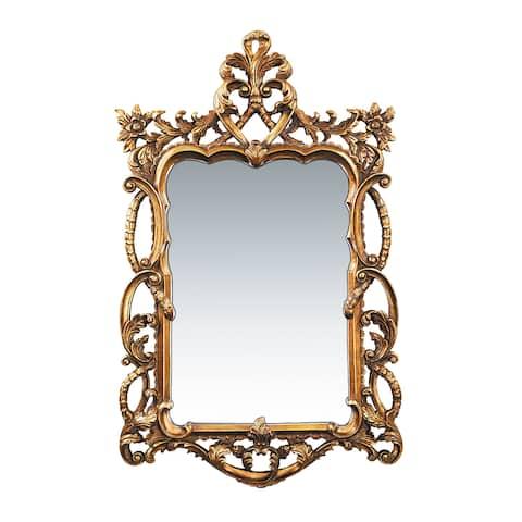 Floral Scroll Wall Mirror