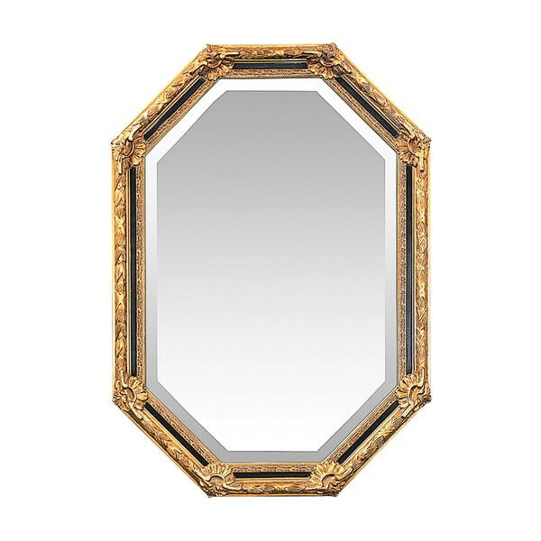 Inlay octagon beveled mirror free shipping today for Octagon beveled mirror
