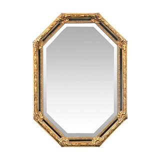 Inlay Octagon Beveled Mirror