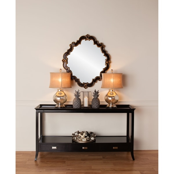 Frederick Medallion Wall Mirror - N/A
