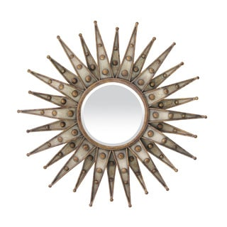 Centauri Starburst Beveled Mirror