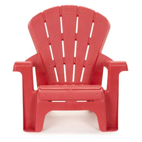 "Little Tikes Red Garden Chair - 18.50""L x 14.50''W x 18.00''H"
