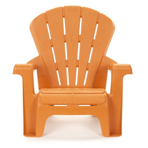 "Little Tikes Orange Garden Chair - 18.50""L x 14.50''W x 18.00''H"
