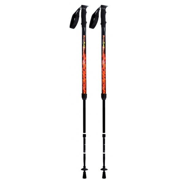 Original Bungypump Power Fitness Walking Poles with 22-pounds of Built-in Resistance