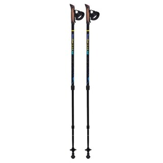 Original Bungypump Slimline Fitness Walking Poles with 8.8-pounds of Built-in Resistance